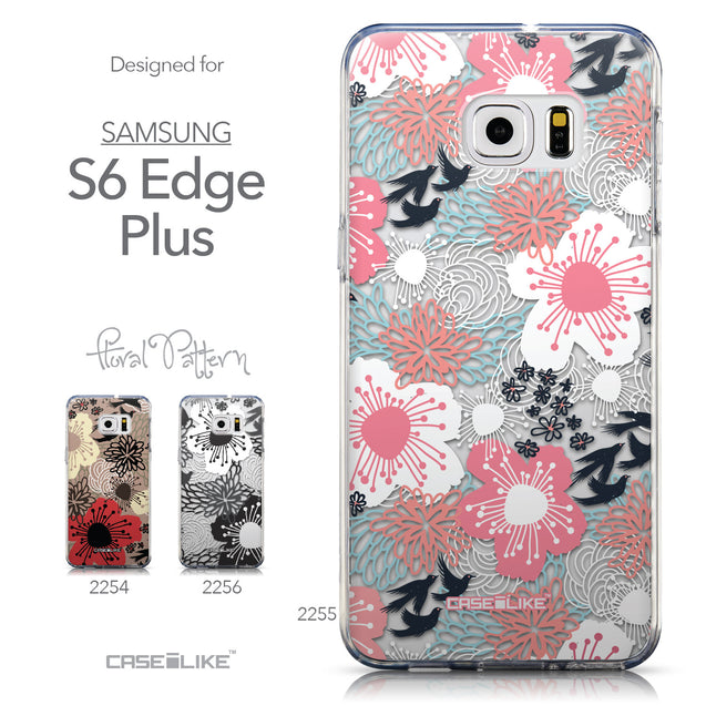 Collection - CASEiLIKE Samsung Galaxy S6 Edge Plus back cover Japanese Floral 2255