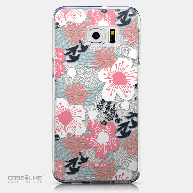 CASEiLIKE Samsung Galaxy S6 Edge Plus back cover Japanese Floral 2255