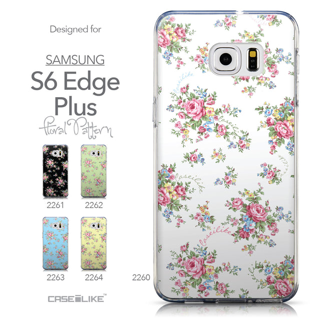 Collection - CASEiLIKE Samsung Galaxy S6 Edge Plus back cover Floral Rose Classic 2260