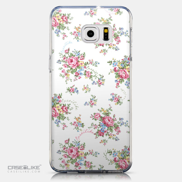 CASEiLIKE Samsung Galaxy S6 Edge Plus back cover Floral Rose Classic 2260