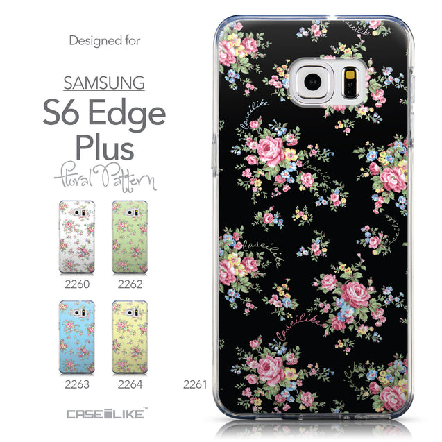 Collection - CASEiLIKE Samsung Galaxy S6 Edge Plus back cover Floral Rose Classic 2261