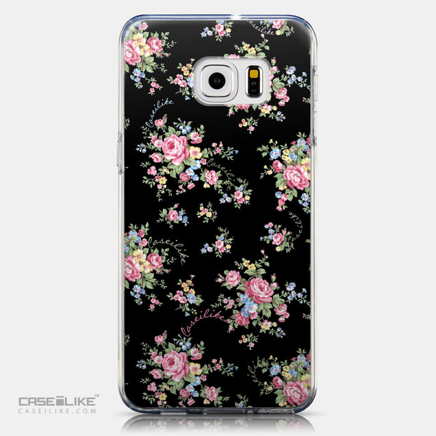 CASEiLIKE Samsung Galaxy S6 Edge Plus back cover Floral Rose Classic 2261