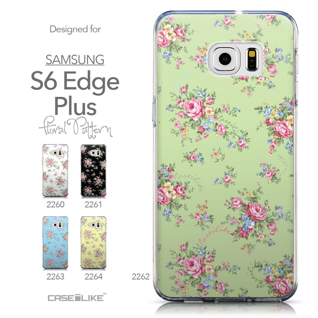 Collection - CASEiLIKE Samsung Galaxy S6 Edge Plus back cover Floral Rose Classic 2262