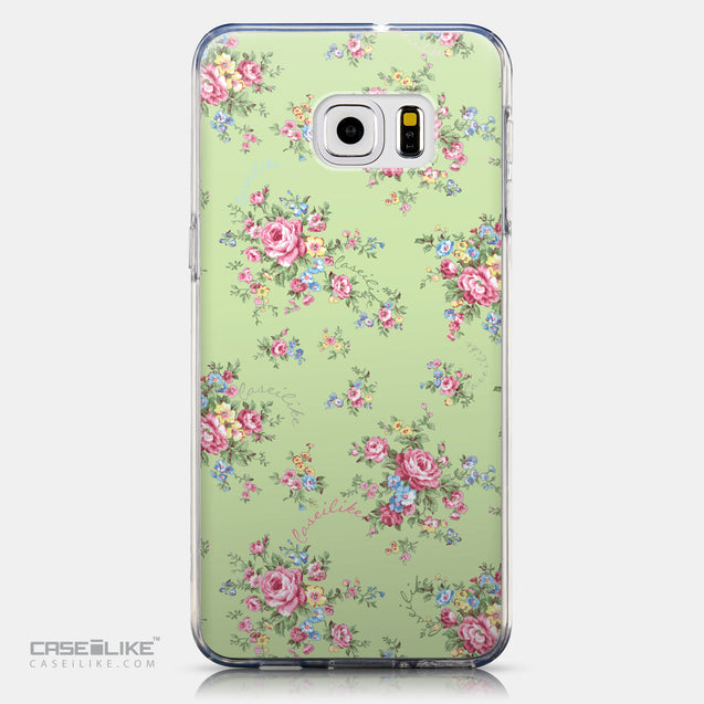 CASEiLIKE Samsung Galaxy S6 Edge Plus back cover Floral Rose Classic 2262