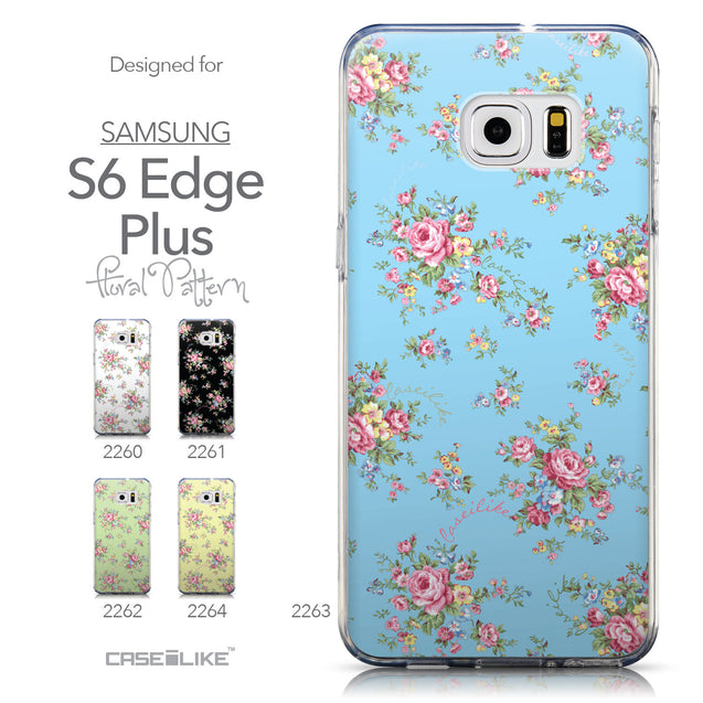 Collection - CASEiLIKE Samsung Galaxy S6 Edge Plus back cover Floral Rose Classic 2263