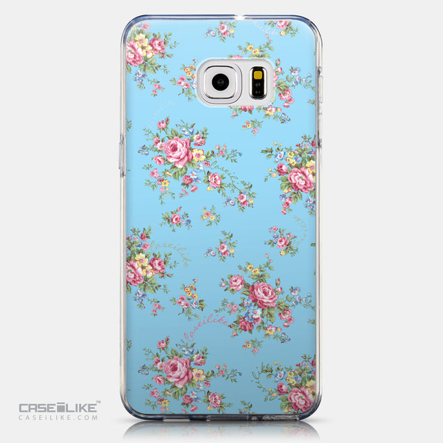 CASEiLIKE Samsung Galaxy S6 Edge Plus back cover Floral Rose Classic 2263
