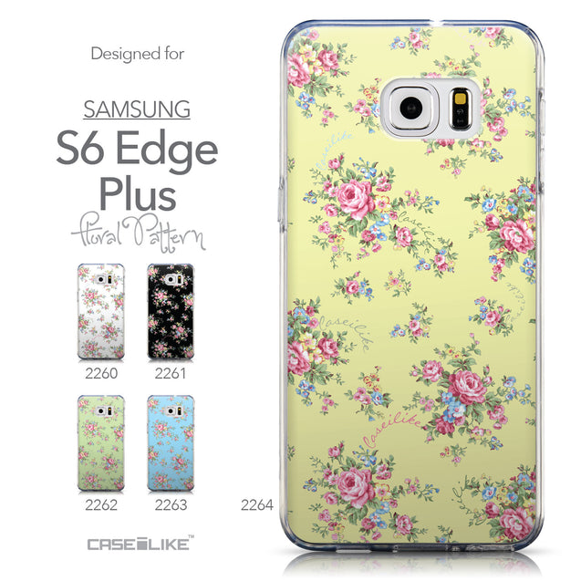 Collection - CASEiLIKE Samsung Galaxy S6 Edge Plus back cover Floral Rose Classic 2264