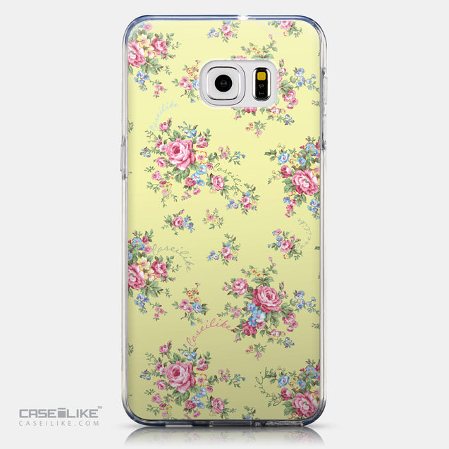CASEiLIKE Samsung Galaxy S6 Edge Plus back cover Floral Rose Classic 2264