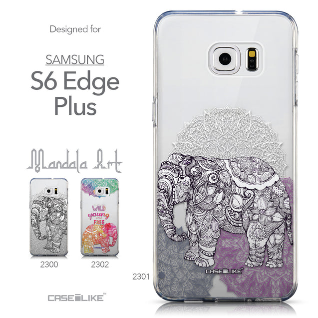 Collection - CASEiLIKE Samsung Galaxy S6 Edge Plus back cover Mandala Art 2301