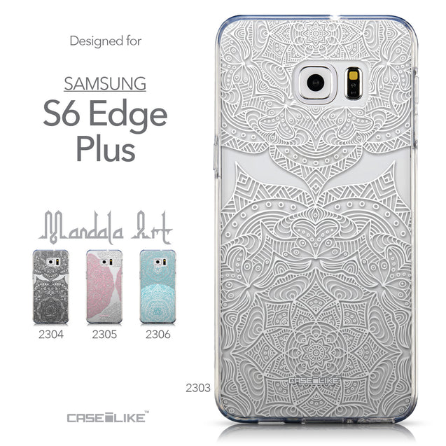 Collection - CASEiLIKE Samsung Galaxy S6 Edge Plus back cover Mandala Art 2303