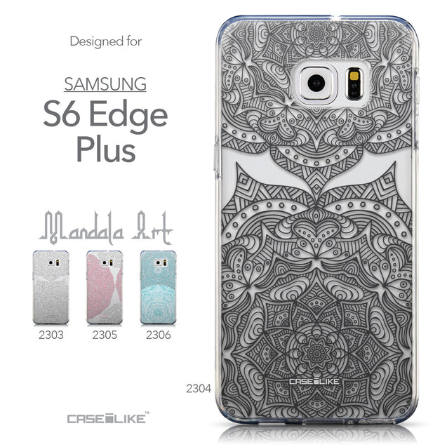Collection - CASEiLIKE Samsung Galaxy S6 Edge Plus back cover Mandala Art 2304