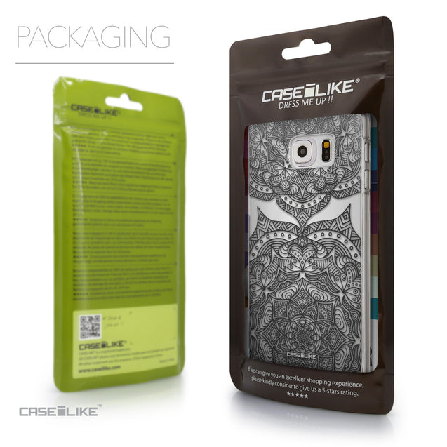 Packaging - CASEiLIKE Samsung Galaxy S6 Edge Plus back cover Mandala Art 2304