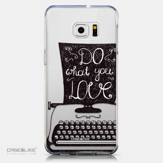 CASEiLIKE Samsung Galaxy S6 Edge Plus back cover Quote 2400