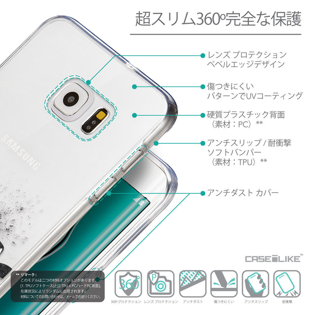 Details in Japanese - CASEiLIKE Samsung Galaxy S6 Edge Plus back cover Quote 2402