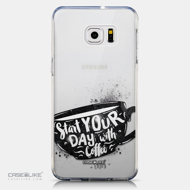 CASEiLIKE Samsung Galaxy S6 Edge Plus back cover Quote 2402