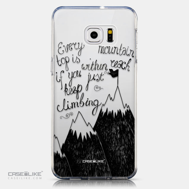 CASEiLIKE Samsung Galaxy S6 Edge Plus back cover Quote 2403