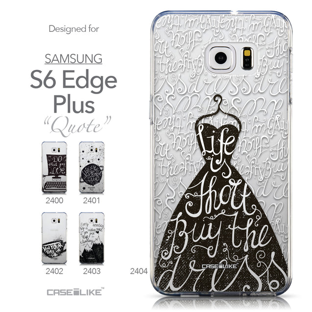 Collection - CASEiLIKE Samsung Galaxy S6 Edge Plus back cover Indian Tribal Theme Pattern 2053
