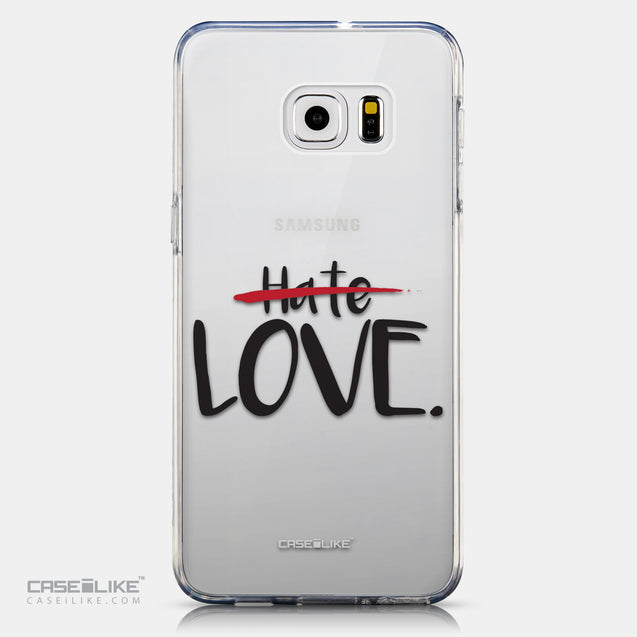 CASEiLIKE Samsung Galaxy S6 Edge Plus back cover Quote 2406