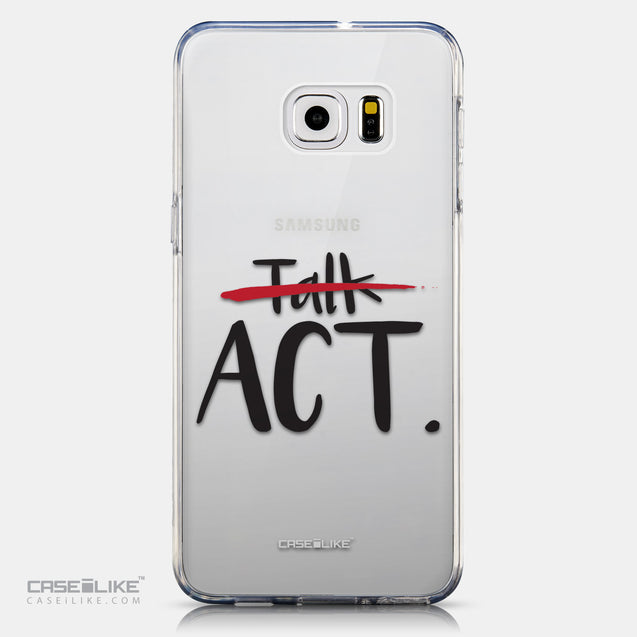 CASEiLIKE Samsung Galaxy S6 Edge Plus back cover Quote 2408
