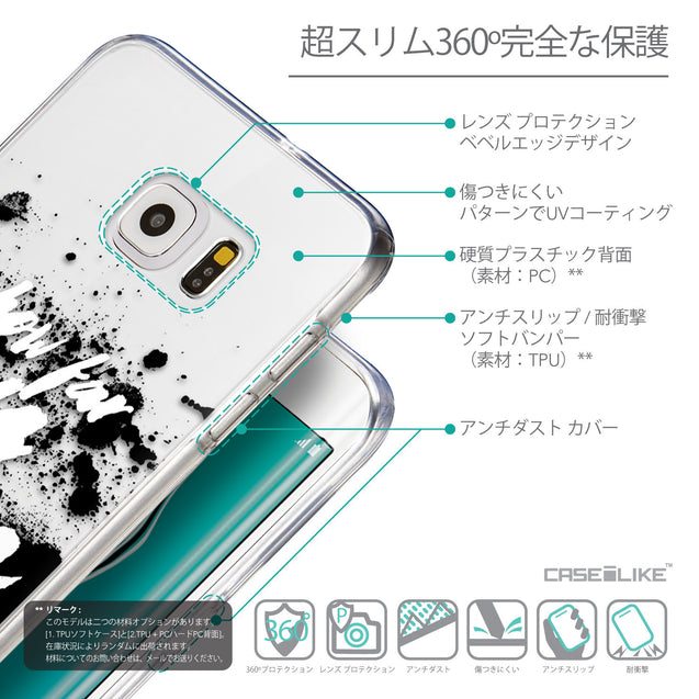 Details in Japanese - CASEiLIKE Samsung Galaxy S6 Edge Plus back cover Quote 2413