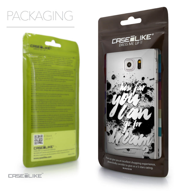 Packaging - CASEiLIKE Samsung Galaxy S6 Edge Plus back cover Quote 2413
