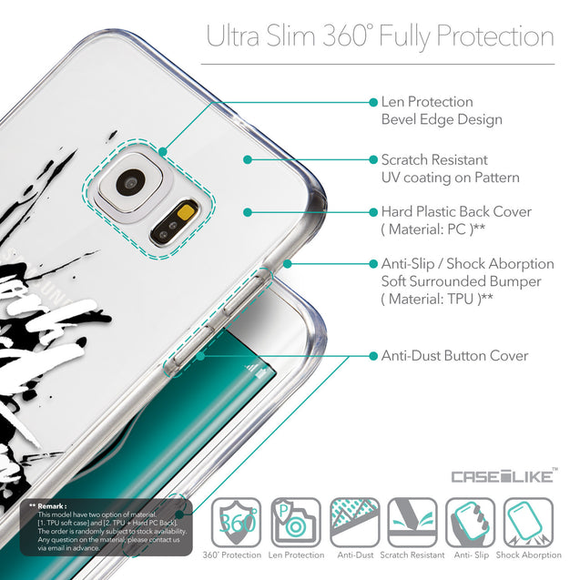 Details in English - CASEiLIKE Samsung Galaxy S6 Edge Plus back cover Quote 2414