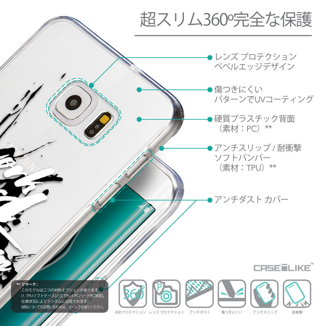 Details in Japanese - CASEiLIKE Samsung Galaxy S6 Edge Plus back cover Quote 2414
