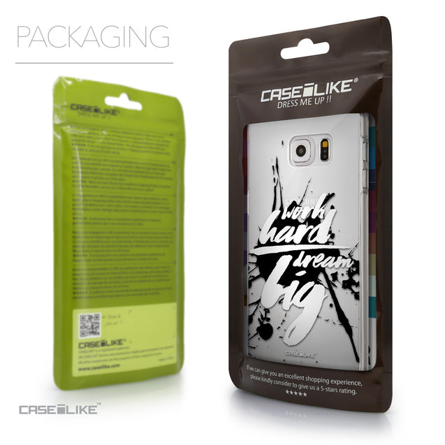 Packaging - CASEiLIKE Samsung Galaxy S6 Edge Plus back cover Quote 2414