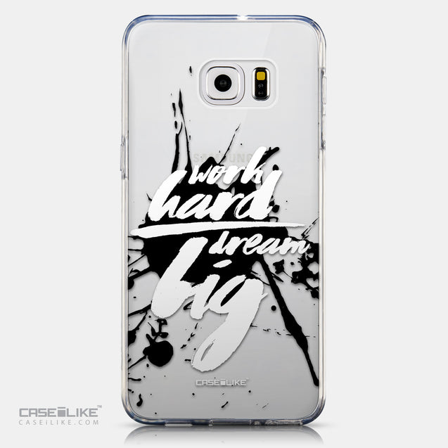 CASEiLIKE Samsung Galaxy S6 Edge Plus back cover Quote 2414