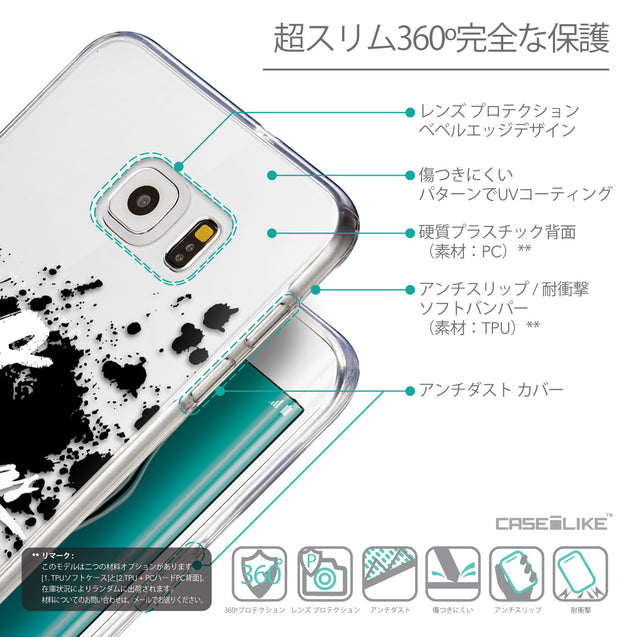 Details in Japanese - CASEiLIKE Samsung Galaxy S6 Edge Plus back cover Quote 2415