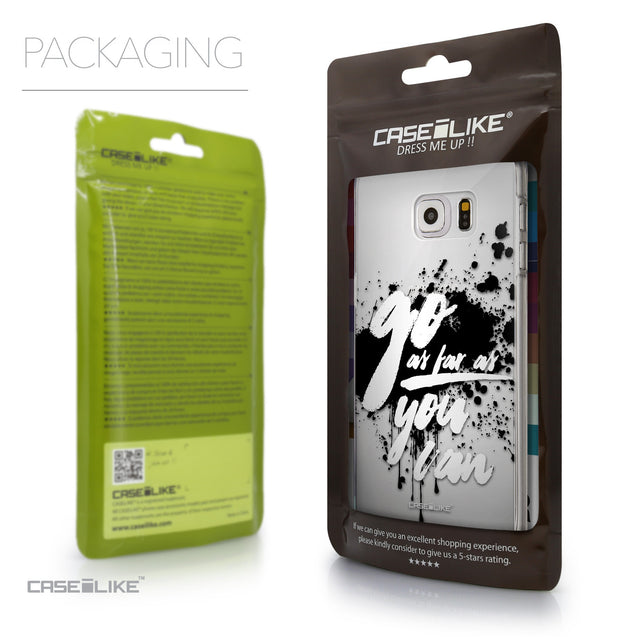 Packaging - CASEiLIKE Samsung Galaxy S6 Edge Plus back cover Quote 2415