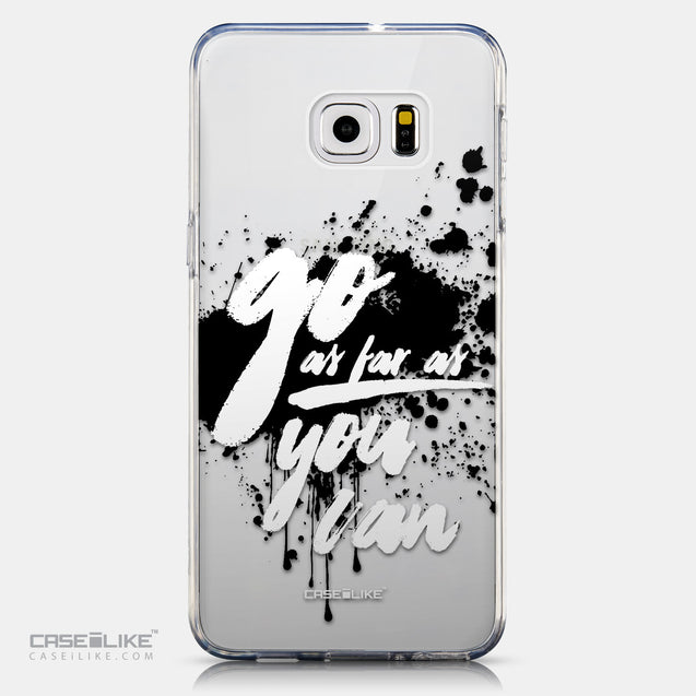 CASEiLIKE Samsung Galaxy S6 Edge Plus back cover Quote 2415