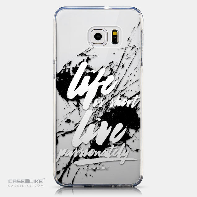 CASEiLIKE Samsung Galaxy S6 Edge Plus back cover Quote 2416