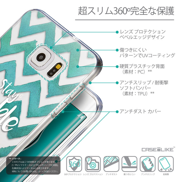 Details in Japanese - CASEiLIKE Samsung Galaxy S6 Edge Plus back cover Quote 2418