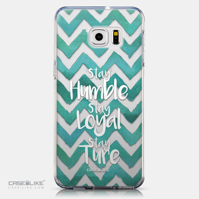 CASEiLIKE Samsung Galaxy S6 Edge Plus back cover Quote 2418