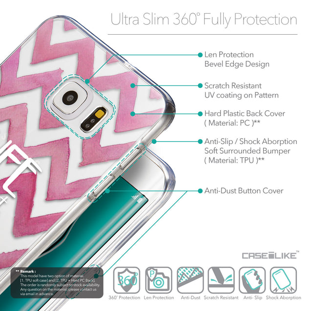 Details in English - CASEiLIKE Samsung Galaxy S6 Edge Plus back cover Quote 2419