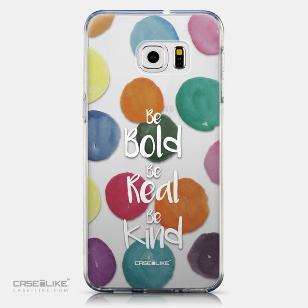 CASEiLIKE Samsung Galaxy S6 Edge Plus back cover Quote 2420