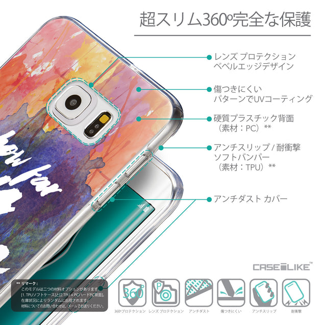 Details in Japanese - CASEiLIKE Samsung Galaxy S6 Edge Plus back cover Quote 2421