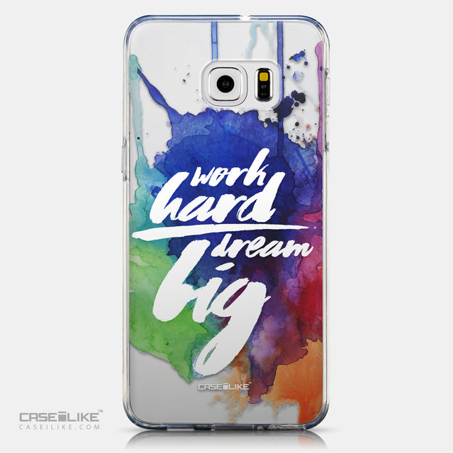 CASEiLIKE Samsung Galaxy S6 Edge Plus back cover Quote 2422
