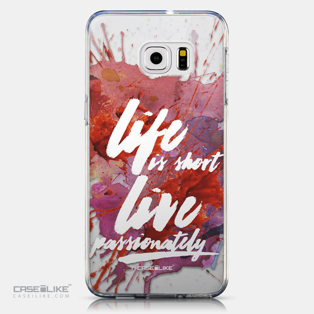 CASEiLIKE Samsung Galaxy S6 Edge Plus back cover Quote 2423