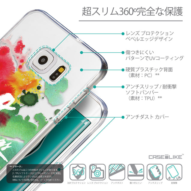 Details in Japanese - CASEiLIKE Samsung Galaxy S6 Edge Plus back cover Quote 2424