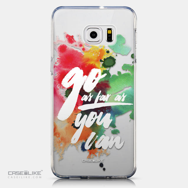 CASEiLIKE Samsung Galaxy S6 Edge Plus back cover Quote 2424