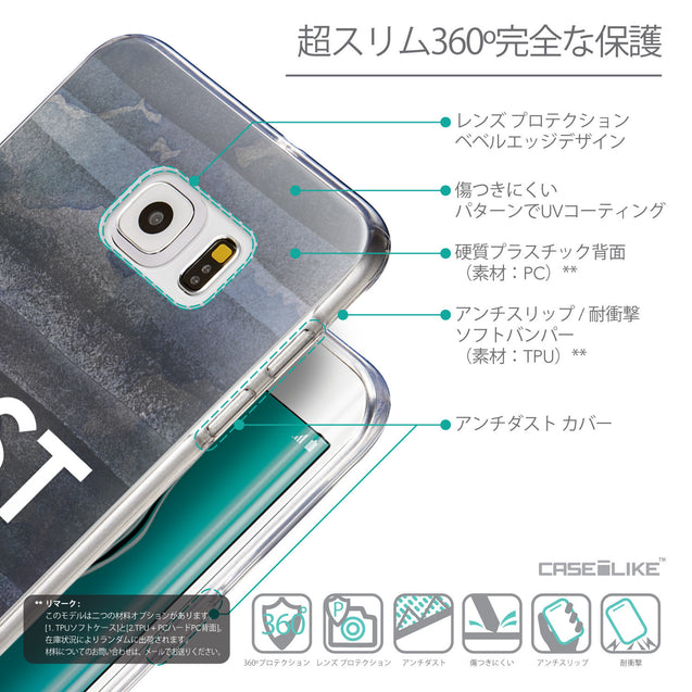 Details in Japanese - CASEiLIKE Samsung Galaxy S6 Edge Plus back cover Quote 2430