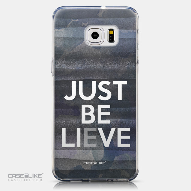 CASEiLIKE Samsung Galaxy S6 Edge Plus back cover Quote 2430
