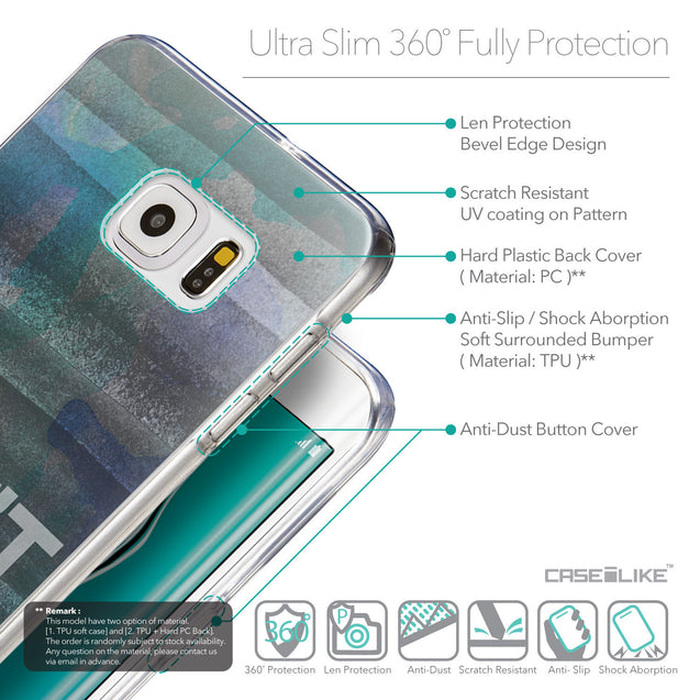 Details in English - CASEiLIKE Samsung Galaxy S6 Edge Plus back cover Quote 2431