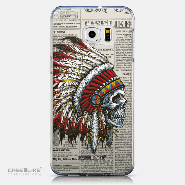 CASEiLIKE Samsung Galaxy S6 Edge Plus back cover Art of Skull 2522