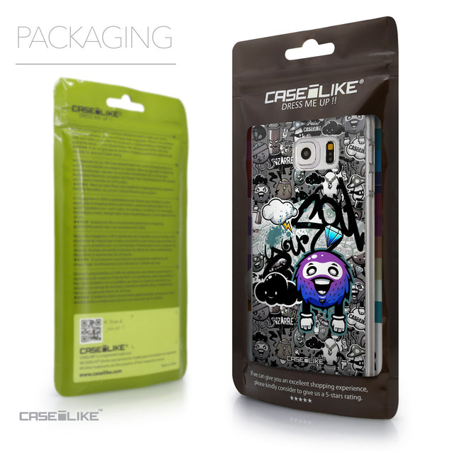 Packaging - CASEiLIKE Samsung Galaxy S6 Edge Plus back cover Graffiti 2706