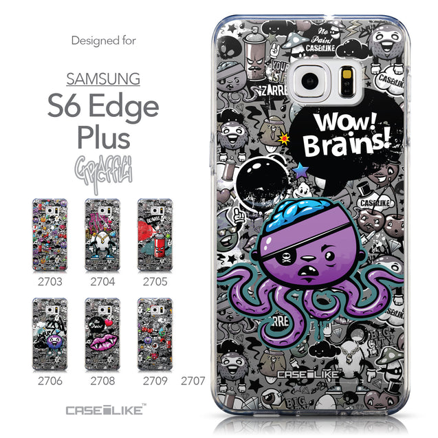 Collection - CASEiLIKE Samsung Galaxy S6 Edge Plus back cover Graffiti 2707