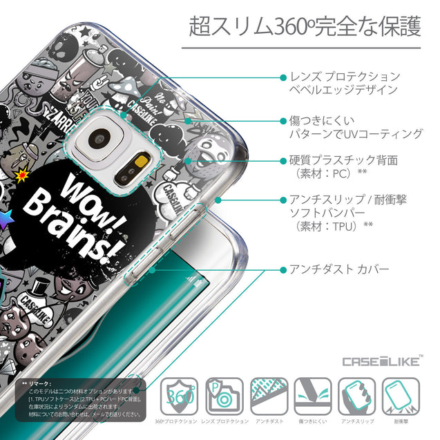 Details in Japanese - CASEiLIKE Samsung Galaxy S6 Edge Plus back cover Graffiti 2707