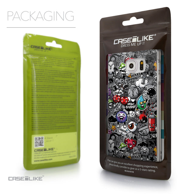 Packaging - CASEiLIKE Samsung Galaxy S6 Edge Plus back cover Graffiti 2709